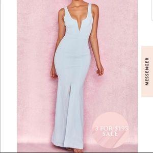 Macie Powder blue dress - WITH TAGS